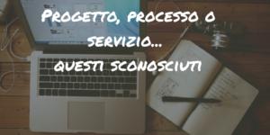 Progetto processo servizio QRP blog