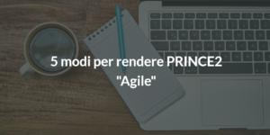 rendere prince2 agile