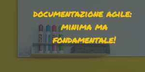 agile project management|agile documentazione project management
