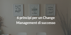 change management di successo