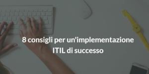 itil|consigli implementazione ITIL