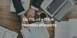itil v4 intervista esperto ITIL