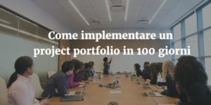 Project Portfolio Management in 100 giorni