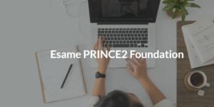 esame prince2 foundation