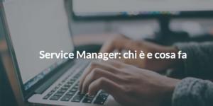 service manager chi è e cosa fa
