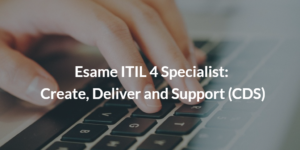esame itil 4 specialist cds