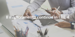 continual improvement itil 4