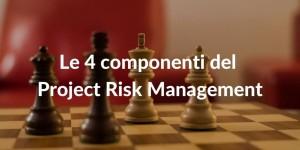 Le 4 componenti del Project Risk Management